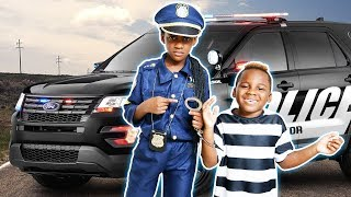 Best Moments Police Kid SideWalk Patrol Parking Tickets