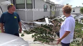 09-11-17 - Naples, FL - Interview of Sherri and Jeff Pompeo, homeowners who took damage in Hurricane