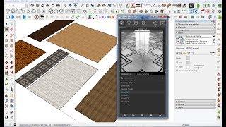 Pack Materiales Madera para V-Ray 3.4 (Tipo  vrmat) Tutorial y Descarga