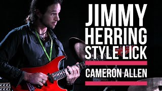Jimmy Herring Style Guitar Lick From Cameron Allen | Licklibrary Guitar Lessons
