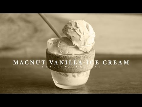 [No Music] How to make Macnut Vanilla Ice Cream