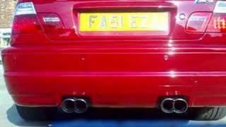 bmw e46 m3 ac schnitzer exhaust sound
