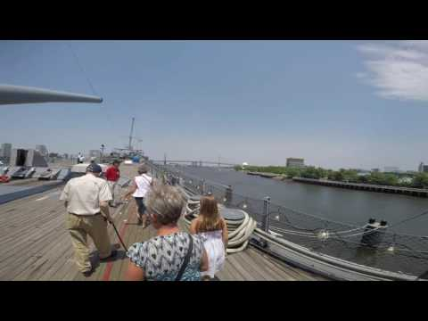 WWII Marine Veteran Returns To USS New Jersey After 71 Years