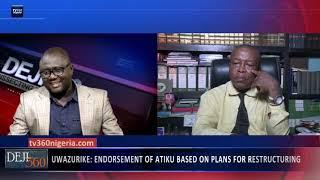 Deji 360 EP 230 Part 1: Ohanaeze chieftain insists on support for Atiku Abubakar
