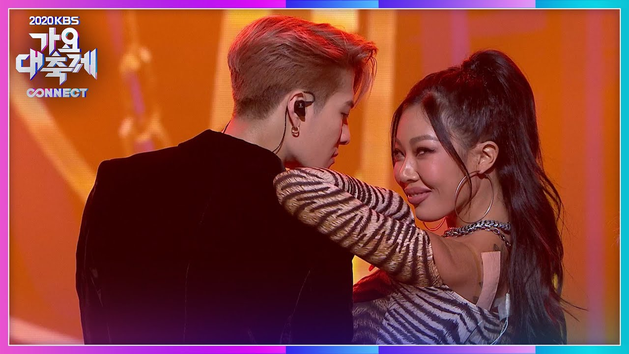 Download 제시(Jessi) X 잭슨(GOT7) - 눈누난나 (NUNU NANA) [2020 KBS 가요대축제]   KBS 201218 방송
