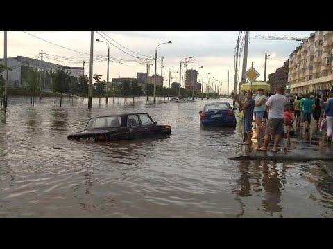 Краснодар под водой: