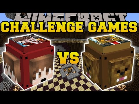 Thumbnail: Minecraft: THEBAJANCANADIAN VS JEROMEASF CHALLENGE GAMES - Lucky Block Mod - Modded Mini-Game