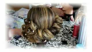 Прическа в греческом стиле на длинные волосы(Буду рада видеть вас на моем втором канале https://www.youtube.com/channel/UCanXca0D7epPZxD6bYaTymw I will be glad to see you on my second ..., 2014-10-07T19:24:39.000Z)