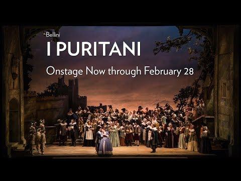 Bellini's I PURITANI at Lyric Opera of Chicago. Onstage Now through February 28