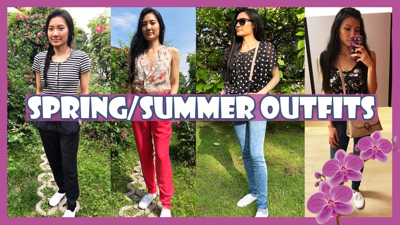 10 Spring/Summer Outfits - Lookbook - What I Wore in Germany | Teaa With Lee 2