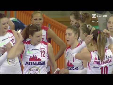 A1 femminile: 2.giornata. Motalleghe Montichiari - Igor Novara 0-3