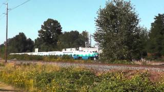 SOUNDER Commuter Train with F59PHI between Kent-Tukwila