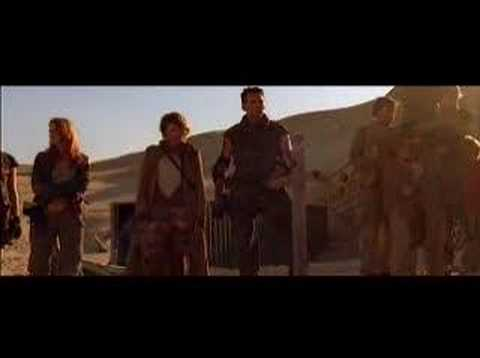 Resident Evil Extinction deleted scene Remembering The Lost