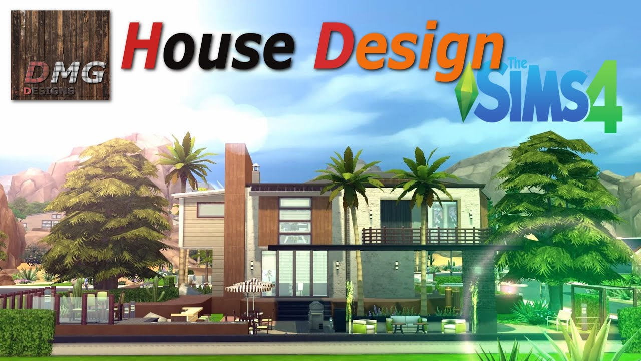 Free House Plan Designer The Sims 4 House Design Tour Modern Tropicana Youtube