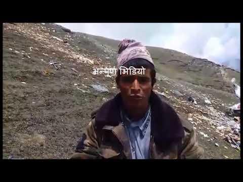 makalu air plane crash humla annapurnapost, video