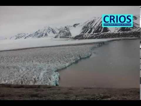 Timelapse Kronebreen, Spitsbergen 2014