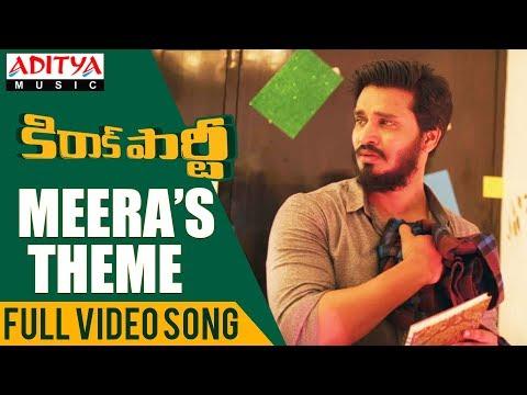 Meera's Theme Full Video Song    Kirrak Party Video Songs   Nikhil Siddharth   Simran