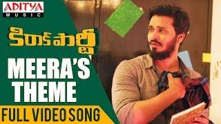 Meera's Theme Full Video Song |  Kirrak Party Video Songs | Nikhil Siddharth | Simran