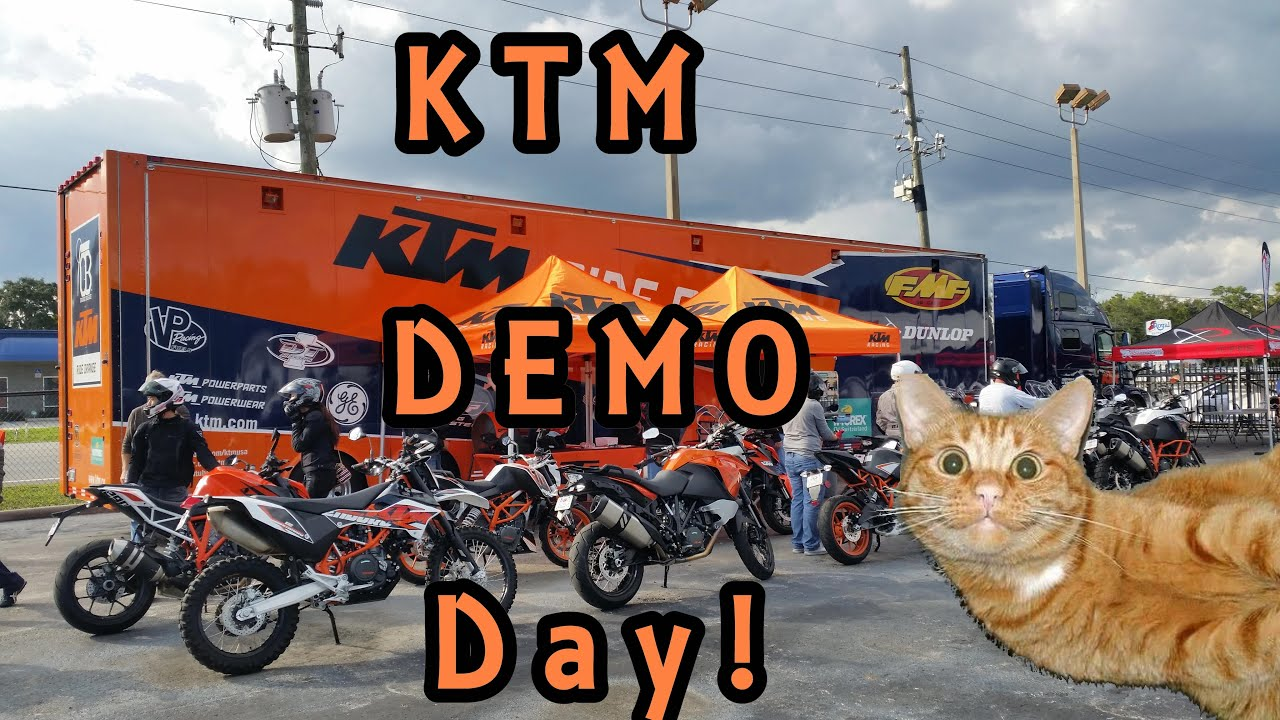 ktm demo day fun! - youtube