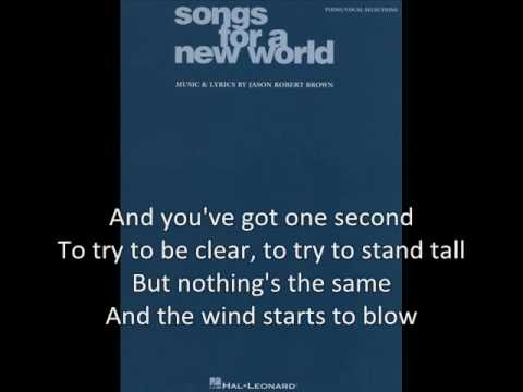 The New World - Songs for a New World Backing Track