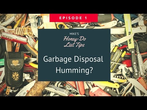 Garbage Disposal Humming? Fix it Yourself