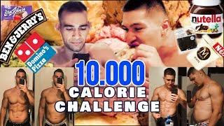 10.000 CALORIE CHALLENGE!!! - ΜΗΝ ΤΟ ΔΟΚΙΜΑΣΕΤΕ!!! - ΦΑΓΑΜΕ ΜΕΧΡΙ ΣΚΑΣΜΟΥ!!!