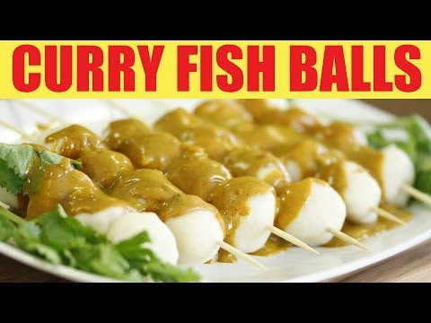 How To Make Curry Fish Balls (咖哩魚蛋) - Wokthefok.com
