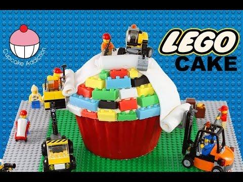 Lego Cake How To Make A Lego Construction Cake A