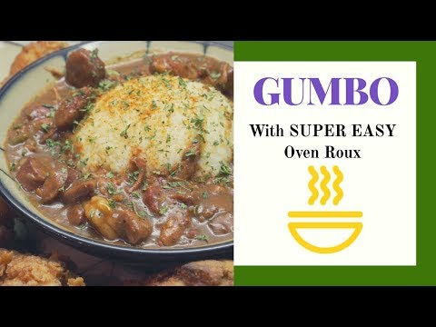 Chicken, Sausage And Shrimp Gumbo!