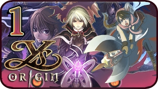 Ys Origin Walkthrough Part 1 (PS4, VITA) Gameplay - Yunica