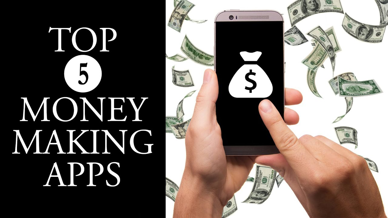 Image result for TOP FIVE MONEY MAKING APPS IN 2016