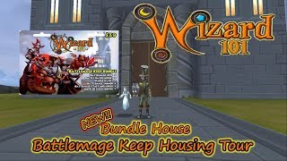 Wizard101 The Battlemage Keep Bundle House Tour - Twitch Giveaway