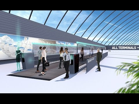 See How Design and Service at Airport in 2040: Biometric Tickets,  Ultra-Fast Security Scanners Etc