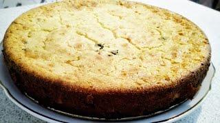 Готовим быстрый пирог с зеленым луком и яйцом