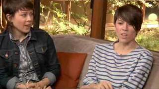 Tegan And Sara Outtakes for MySpace Music Feed