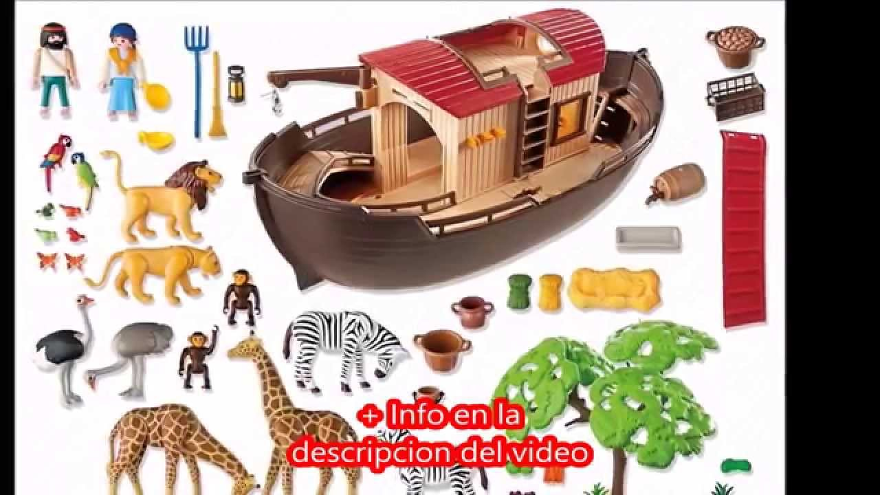 Playmobil zoo arca de animales 5276 youtube for Arca de noe playmobil