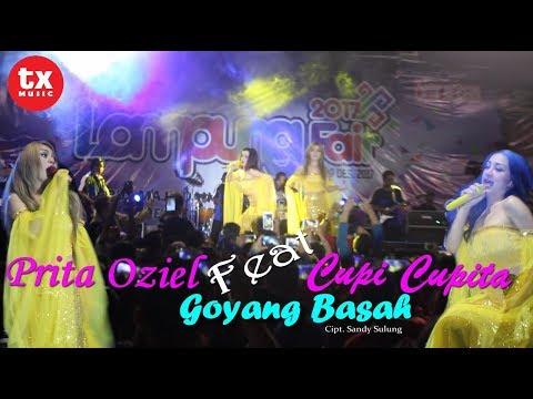PECAH & GAGAL FOCUS!!! Cupi Cupita Feat Prita Oziel Goyang Basah @Lampung Fair..