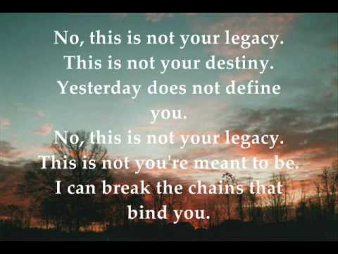 Family Tree by Matthew West (w/ lyrics)