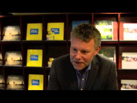 Interview with crime author Arne Dahl