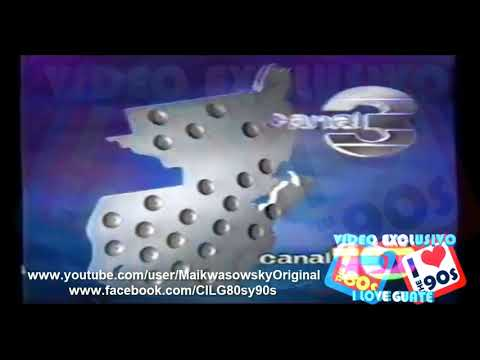 Identificacion Canal 3 90s