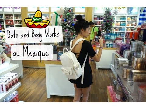 Vlog au Mexique #3: Bath and Body Works et Victoria's Secret au Mexique ?