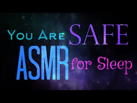 Binaural ASMR Whispers   You are SAFE (Anti-anxiety/for Sleep—No Music)