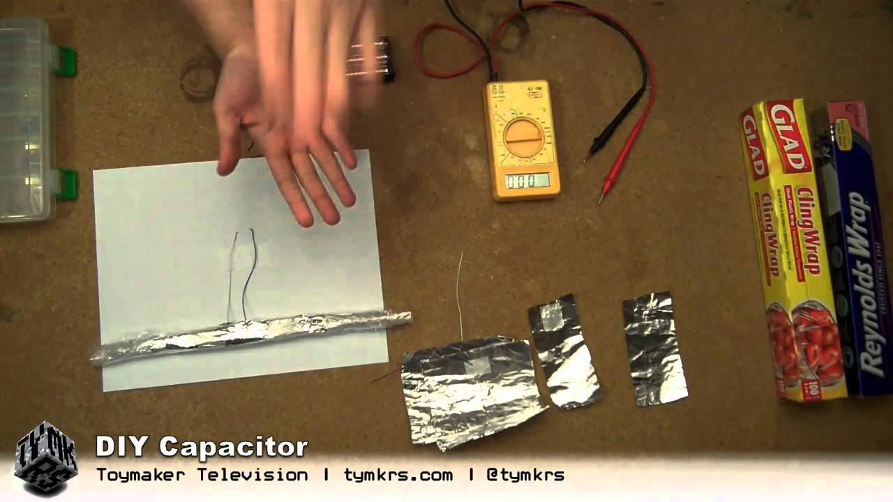 Roll Your Own Capacitors | Hackaday