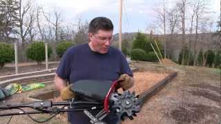 Troy-Bilt Electric Cultivator Tiller Review - TB154E from Lowes