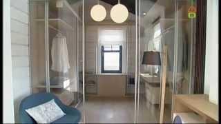 Мансарда с прозрачной гардеробной(Основная цель этой переделки – создание трех полноценных функциональных зон в одном помещении: спальня,..., 2014-12-09T13:51:08.000Z)
