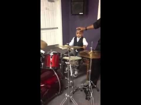 Jeremy Jefferson 3yrs old drummer