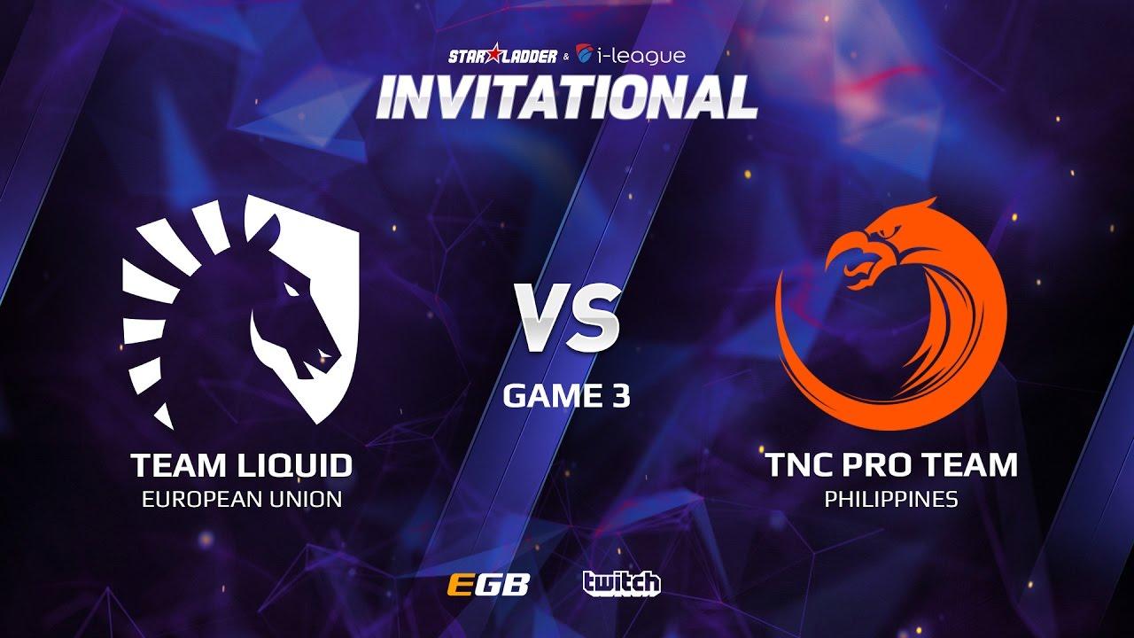 Team Liquid vs TNC Pro Team, Game 3, SL i-League Invitational S2 LAN-Final, Grand-Final