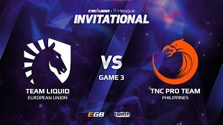 Team Liquid vs TNC Pro Team, Game 3, SL i-League Invitational S2 LAN-Final, Grand-Final