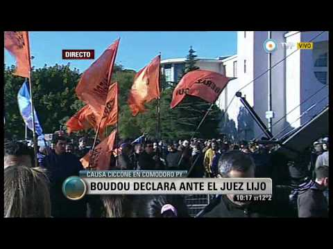 Visión 7 - Causa Ciccone: Boudou declara ante el juez Lijo (2)