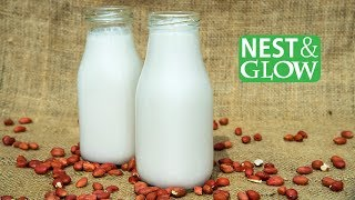 How-To Make Sprouted Peanut Milk